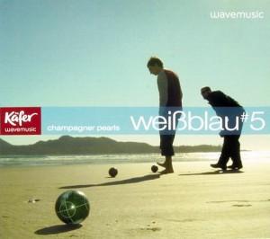 Käfer: weißblau #5